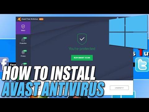 How To Install Avast Antivirus 2018 Beta 18.1 | It Also Protects Windows XP