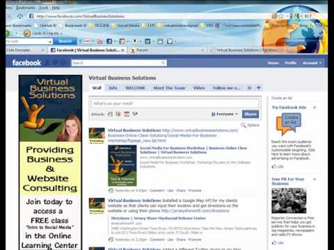 Facebook Business Page Pretty Url