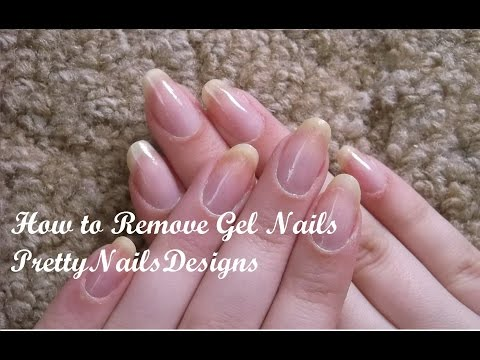 How I File Down Gel Nails