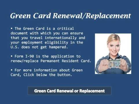 What Should to do if I lost my Green Card
