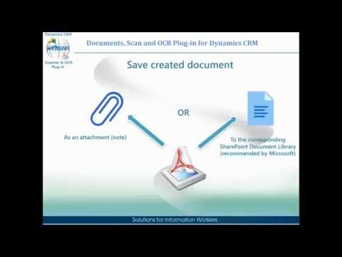 Documents, Scan and OCR Plug-in for Dynamics CRM