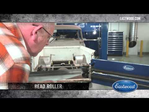 Bead Rolling Sheet Metal - Fabricating Fenders with Kev Elliott of Street Rodder - Eastwood