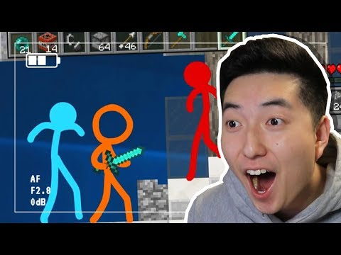 ANIMATION VS MINECRAFT! | REACTION (PvP AVM Shorts Episode 7)