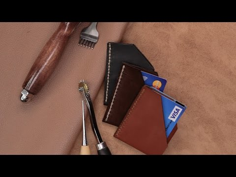 DIY Leather Card Wallet