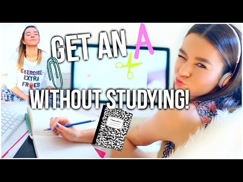 How To Get An A Without Studying! Finals Week Study Tips + Survival Guide!