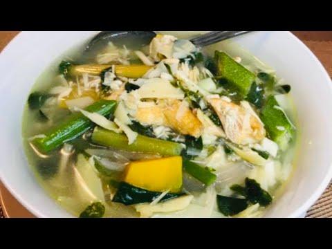 SINABAWANG GULAY W/ PUSO NG SAGING recipe