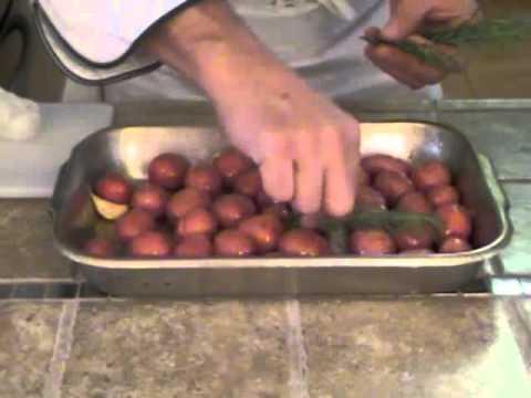 Red Potatoes - Garlic & Rosemary