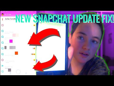 HOW TO UN UPDATE SNAPCHAT! [2018]