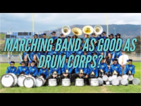 Marching Band VS Drum Corps - Can Marching Band Be As Good As Drum Corps? (+Private Lesson Footage)