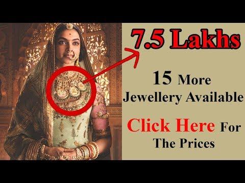 Padmavati Theme Jewellery Collection from Tanishq