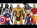 Marvel Avengers 4 End Game Defeat Thanos With Captain Marvel Ronin Ant Man DuDuPopTOY