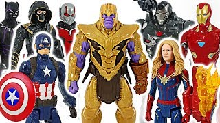 Download Marvel Avengers 4 End Game! Defeat Thanos with Captain Marvel, Ronin, Ant-Man! #DuDuPopTOY Video