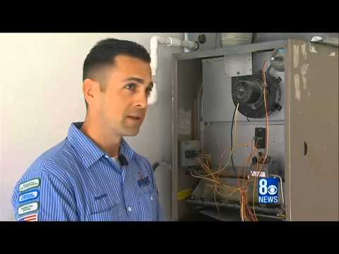 Featured on 8 News Now, Heating System Maintenance