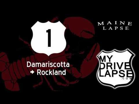 Driving Scenic US 1 Through Maine: Damariscotta to Rockland