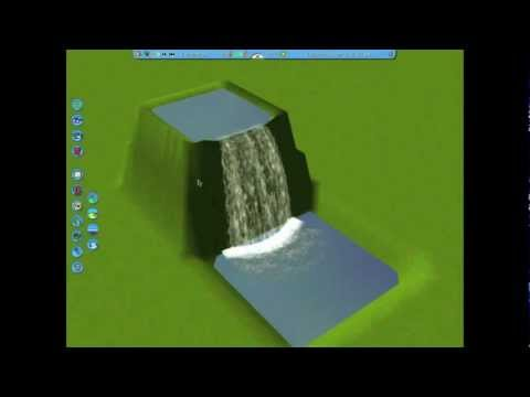 RCT3 Tutorial: How to Make Waterfalls