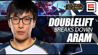 Download Doublelift talks ARAM and how ″you're going to lose″ if you can't play macro | League of Legends Video