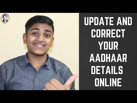 Online Aadhaar Update | Update your Address ONLINE | Free of cost |