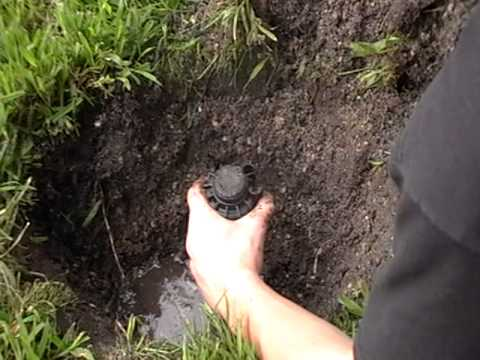 How to replace a sprinkler head