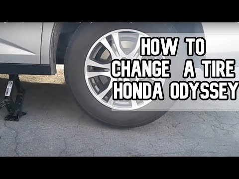 How to change or replace a tire | Honda Odyssey DIY video | #diy #tire