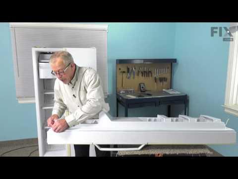 Amana Refrigerator Repair – How to replace the Freezer Door Gasket