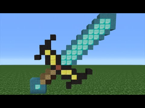Minecraft Tutorial: How To Make An Enchanted Diamond Sword (Minecraft Story Mode)