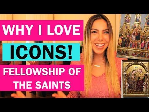 WHY I LOVE ICONS & SAINTS IN ORTHODOX LITURGY