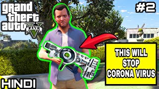THIS WEAPON WILL STOP CORONA in GTA V #2   KrazY Gamer  