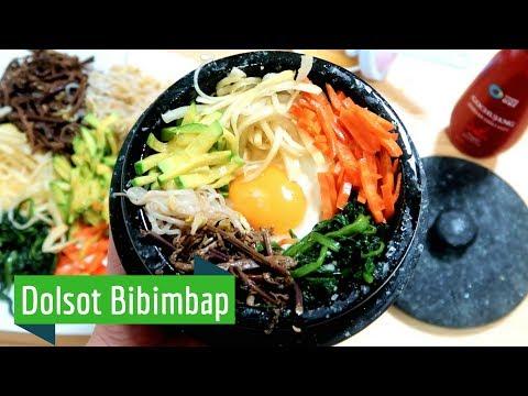 How to make Dolsot Bibimbap (ft. wild veggies)