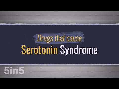 Drugs That Cause Serotonin Syndrome