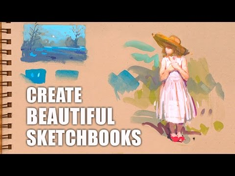 How to create Beautiful Sketchbooks with Steve Huston - Trailer (4K Ultra HD)