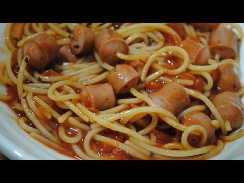 HOT DOG SPAGHETTI - Student Recipe
