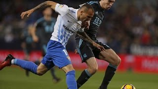 Malaga vs Real Sociedad 0-2 Goals & Highlights 16/01/2017