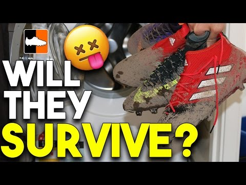 Boots in Washing Machine! - 17+ PureControl, CR7 Superfly, Veloce & ACE 17.1 Cleats
