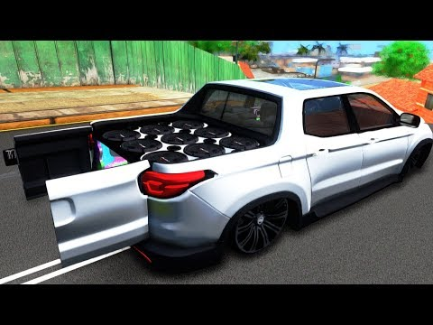 Parando a City com a Fiat Toro Deboxada (*GTA Brasil*)