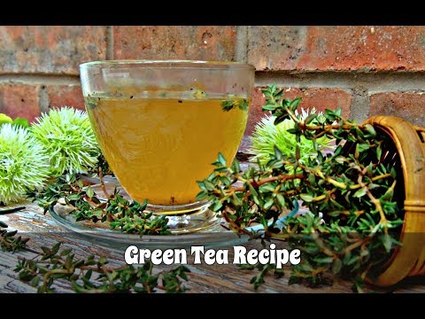 How to Make Green Tea - If You Can Make Regular Tea, You Can Make This! | Episode 108
