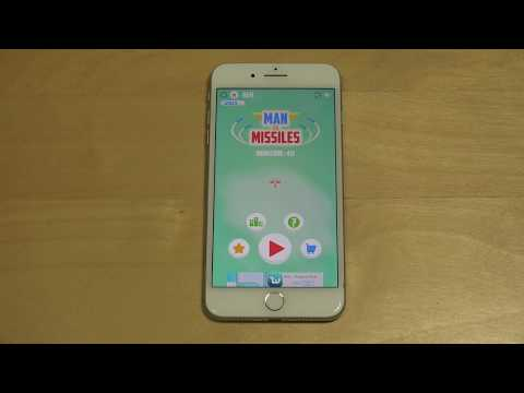 Man vs. Missiles iPhone 7 Plus Gameplay Review!