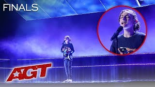 """Benicio Bryant Sings NEW Original Song, """"Six Strings (Because Of You)"""" - America's Got Talent 2019"""