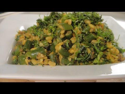 French Beans with Moong Dal | Sanjeev Kapoor Khazana