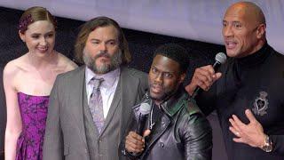 Jumanji 2 - Paris premiere - Dwayne Johnson, Jack Black, Karen Gillan, Kevin Hart (03/12/19)