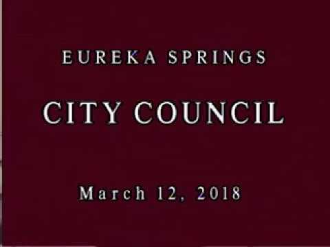 CITY COUNCIL 03 12 18