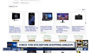 Check this site before shopping Amazon