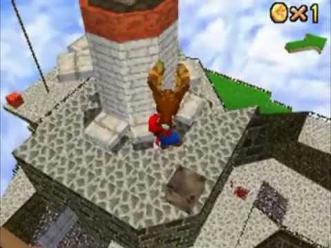 Let's Play Super Mario 64 DS Part 3: When Plumbers Fly