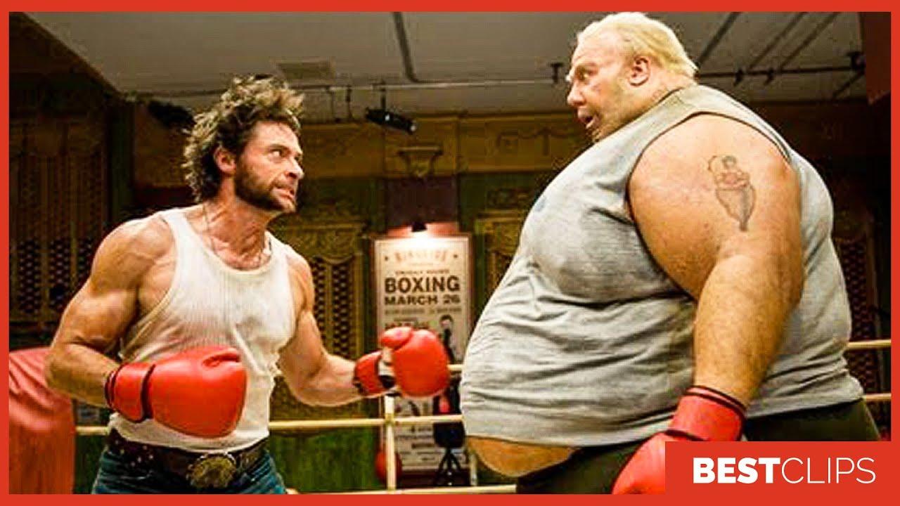 "Wolverine vs Blob ""Did You Just Call Me Blob"" Fight Scene    X-Men Origins Wolverine Movie CLIP 4K"