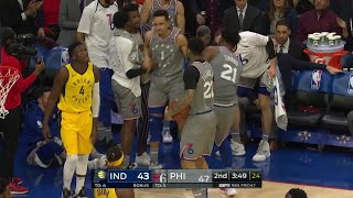 2nd Quarter, One Box Video: Philadelphia 76ers vs. Indiana Pacers