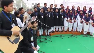 Amu  Tarana sir Syed day  bicentenary celebration by UHMC & Fusion Club members-