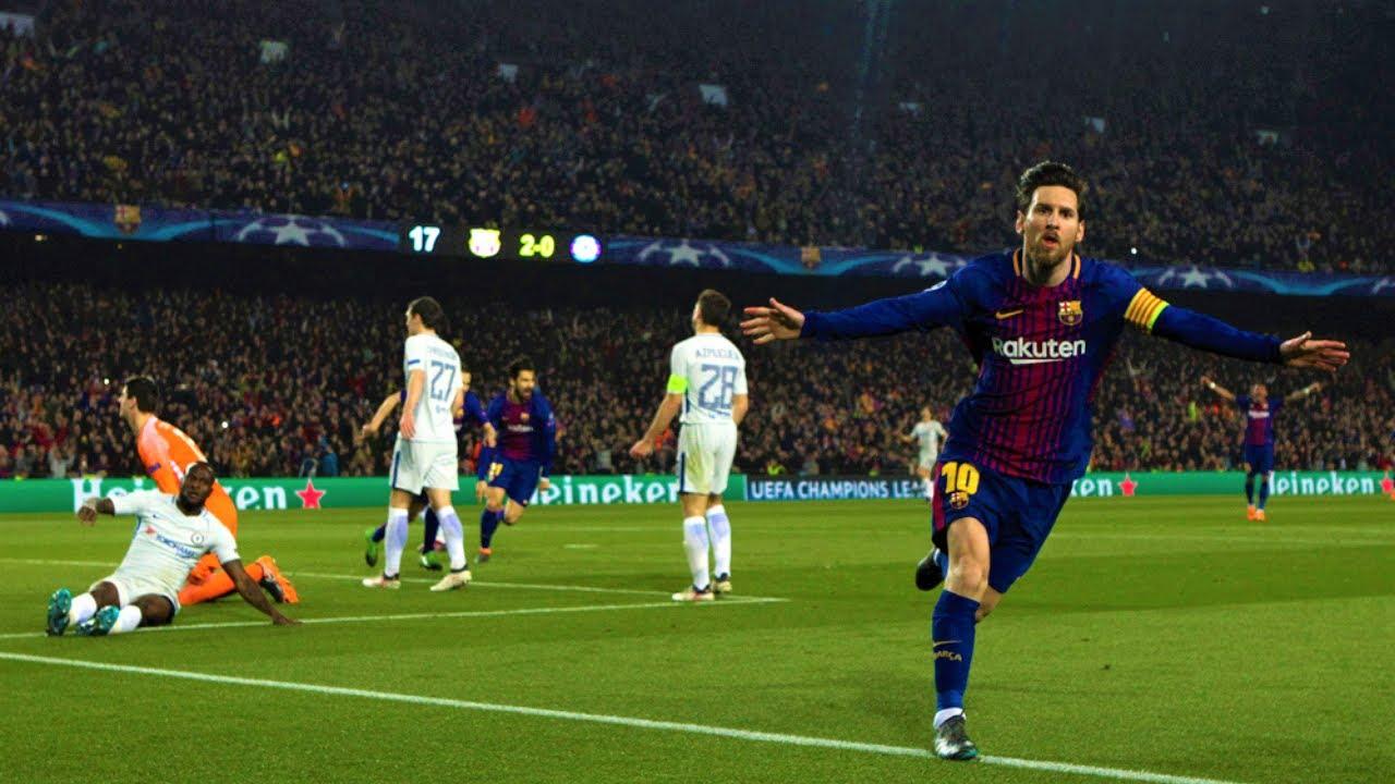 Lionel Messi - Destroying Premier League Teams - HD