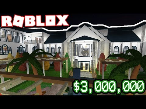 The Most Expensive House In Bloxburg Subscriber Tours Roblox