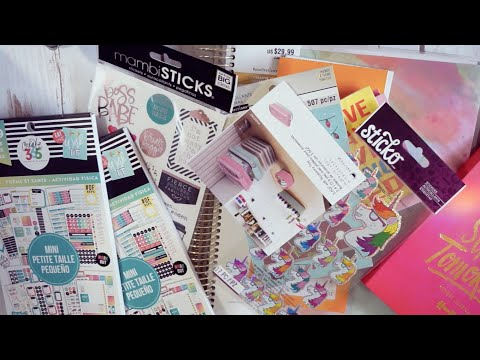 THE BIGGEST MICHAELS HAUL YET! | HAPPY PLANNER + PLANNER STICKERS + JOURNALS + HOME DECOR