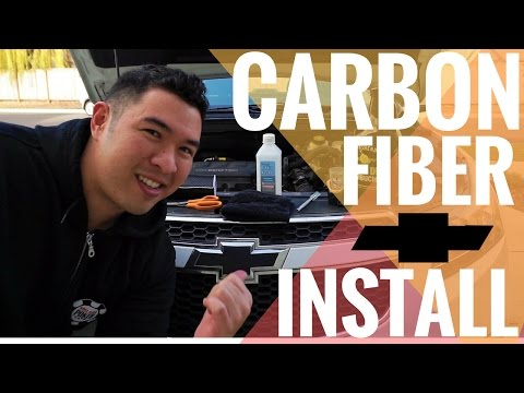 Carbon Fiber Decal (Bow Tie) Installation | Chevy Cruze Guide | Step by Step Tutorial + Walkthrough