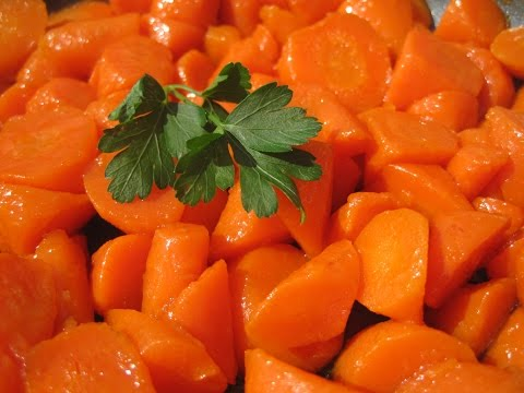 BRANDY GLAZED CARROTS - How to make GLAZED CARROTS Recipe